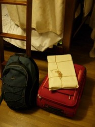hostel baggage