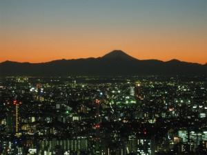 fuji silhouette